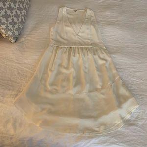 Aritzia Dresses - Aritzia White/Off White Silk Dress